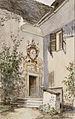 Ladislav Benesch - Bled-vhod v grajsko kapelo.jpg