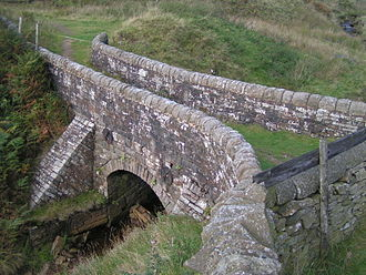 River Etherow - Lady Shaw Bridge