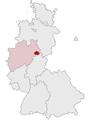 Lage des Kreises Warburg in Deutschland 1974.png