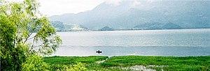 Lake Yojoa - Image: Lago de Yojoa 01