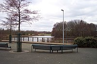 Lake in the Centre of Perton - geograph.org.uk - 127983.jpg
