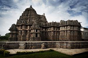 Lakshminarayana Temple, Hosaholalu - Lakshminarayana Temple at Hosaholalu