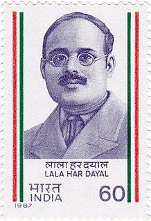 Har Dayal Indian revolutionary