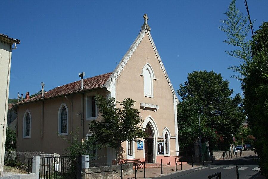 Lamalou-les-Bains - Hérault - église réformée.