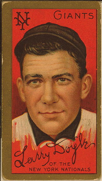Larry Doyle (baseball) - Image: Larry Doyle Baseball Card