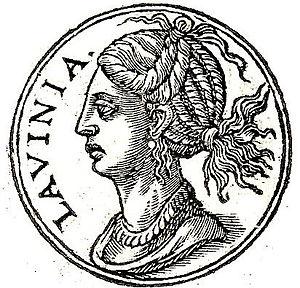 Lavinia - Lavinia from Promptuarii Iconum Insigniorum