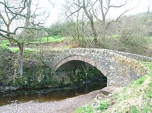 Darvel - The Law Bridge over the Glen Water near Darvel, 2007
