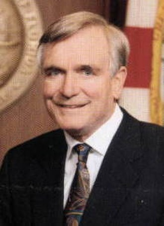1994 Florida gubernatorial election - Image: Lawton Chiles Governor portrait (cropped)