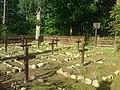 Leśny cmentarz wojenny 1915 r - panoramio.jpg