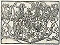 Leŭ Sapieha, Alžbieta Radzivił, Pahonia. Леў Сапега, Альжбета Радзівіл, Пагоня (1599).jpg