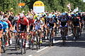 Le Tour de France Stage 3 passes km 0 marker - geograph.org.uk - 4060737.jpg