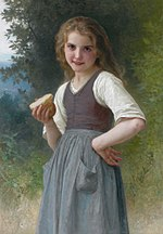 Le goûter aux champs, by William-Adolphe Bouguereau.jpg