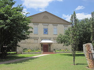 Leakey, Texas - Image: Leakey, TX, School District office IMG 4311