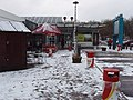 Leigh Delamere services in snow - geograph.org.uk - 1145517.jpg