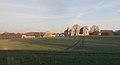 Leiston Abbey at dawn (distance).jpg