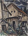 Leo Gestel Bavarian village 1923.jpg
