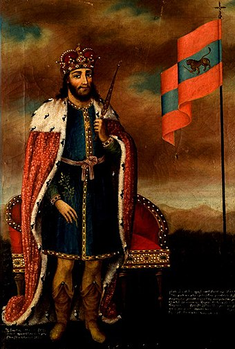 Leo I the Magnificent, first king of Armenian Cilicia, Leo succeeded in establishing Cilician Armenia as a powerful and a unified Christian state with a pre-eminence in political affairs. Leo II Armenia.jpg