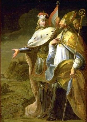 Leopold II, Margrave of Austria - Image: Leopold II und Sigibold