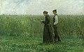 Leopold von Kalckreuth - Am Sonntagnachmittag (1893).jpg