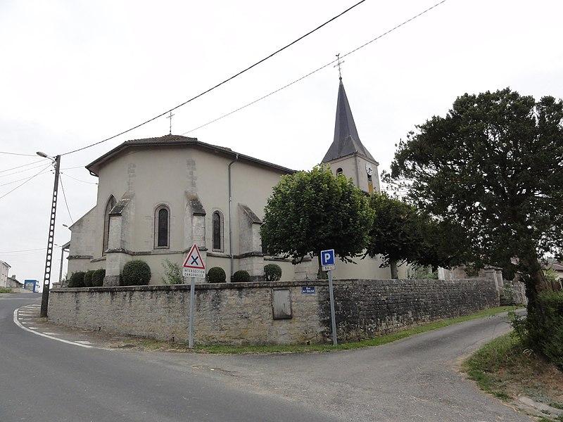 Les Souhesmes (Les Souhesmes-Rampont, Meuse) église Souhesme-la-Grande