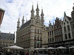 Rådhuset i Leuven.