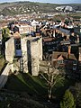 Lewes Castle Barbican Tower - geograph.org.uk - 166252.jpg
