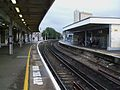Lewisham railway station platform 2 look south.JPG