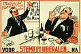 Liberale verkiezingsaffiche, 1936 - Campaign poster, Belgian Liberal Party, National elections 1936 (30616509502).jpg