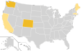 Libertarian Party Ballot Access Locator Map, 1972 (United States of America).png