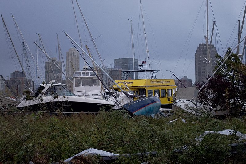 Hurricane Sandy in New Jersey
