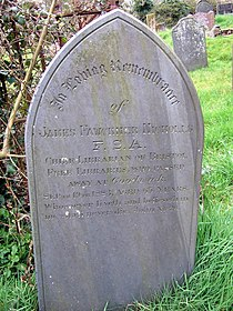 Librarian's grave - geograph.org.uk - 1232991.jpg