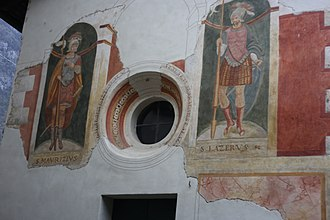 Order of Saints Maurice and Lazarus - The Church of Saints Maurice and Lazarus at Castle of Lierna