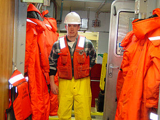 Third mate - Image: Life vest