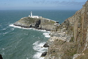 South Stack und South Stack Lighthouse