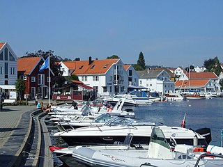 Lillesand (town) Town in Southern Norway, Norway