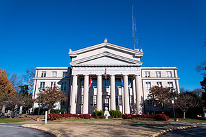 Lincoln County, North Carolina - Image: Lincoln County Courthouse (Lincolnton, North Carolina)