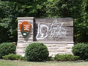 Lincoln Boyhood National Memorial - Image: Lincoln boyhood memoral 1