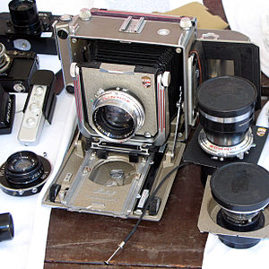 Field camera - Linhof Technika IV Field camera