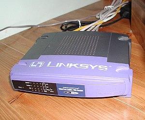 Linksys BEFSR41 Router 20040321.jpg