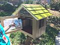 Little free Library in Watson Park Lawrence Kansas.JPG