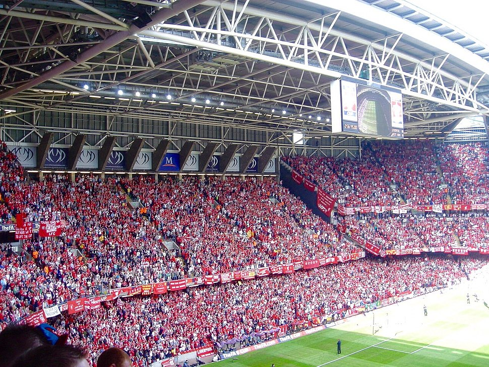Liverpool supporters 2006 FA Cup final