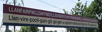 Angleterre Ville Nom Plus Long