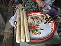 Locally made Sticky rice in bamboo at Mong Yawng market in December 2016-4.jpg