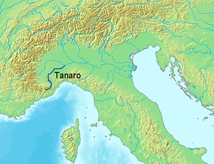 Tanaro - Image: Location Tanaro River