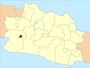 Sukabumi - Sukabumi city is located in the western Parahyangan region, surrounded by Sukabumi Regency in West Java province
