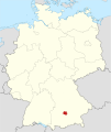 Locator map DAH in Germany.svg