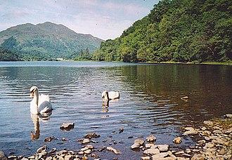 Loch Achray - looking west to Ben Venue