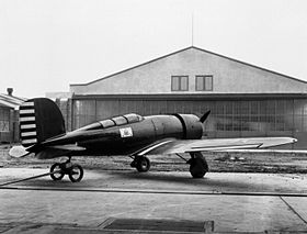 Lockheed XRO-1 Altair at Langley 1932.jpg