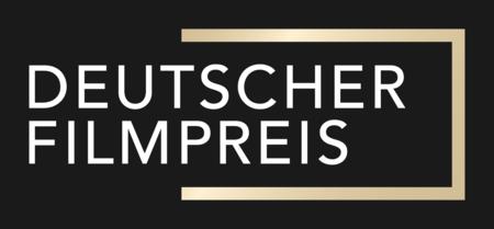 Logo Deutscher Filmpreis Screen weiss-gold auf schwarz.png