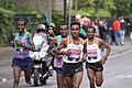 London Marathon 2017 TILAHUN REGASSA (ETH), GHIRMAY GHEBRESLASSIE (ERI) & KENENISA BEKELE (ETH) - DSC06388 (34064683182).jpg